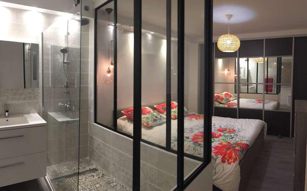 Photos de salle de bain de style de style industriel for Salle bain industriel