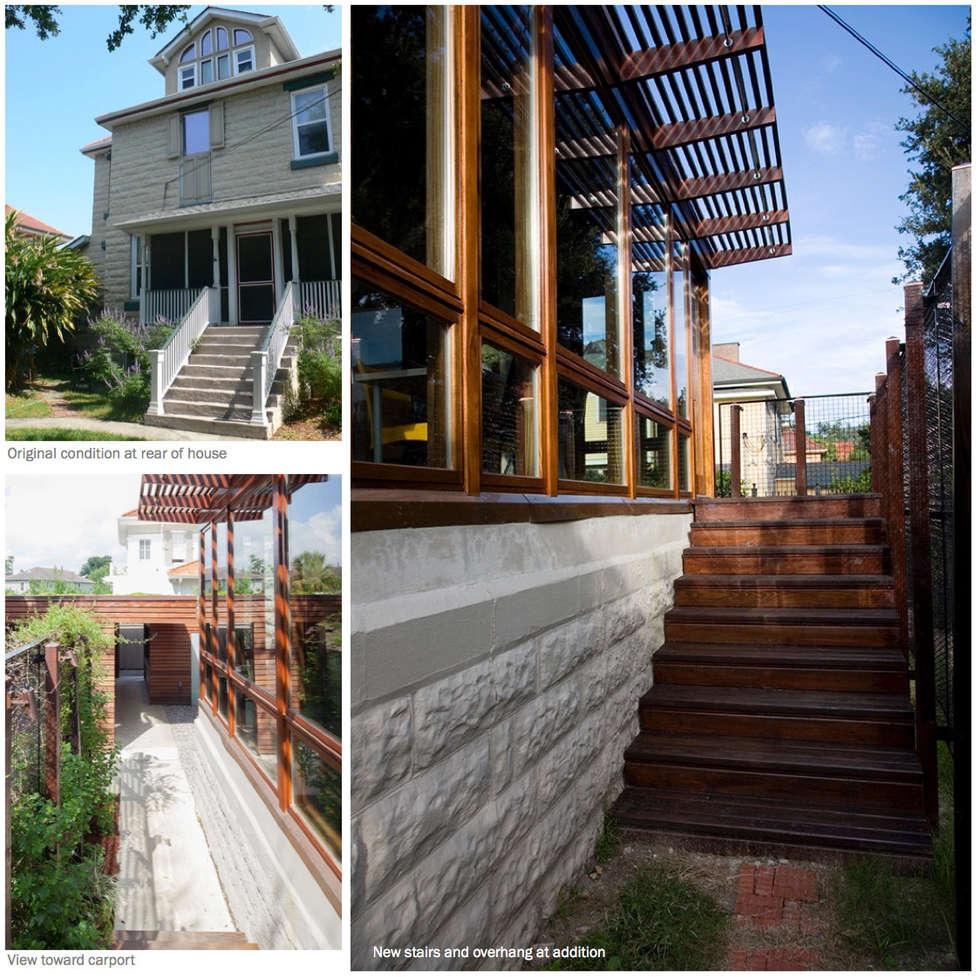 City Park Residence, New Orleans: modern Houses by studioWTA
