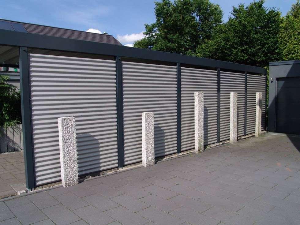 Wohnideen interior design einrichtungsideen bilder for Carport metall schweiz