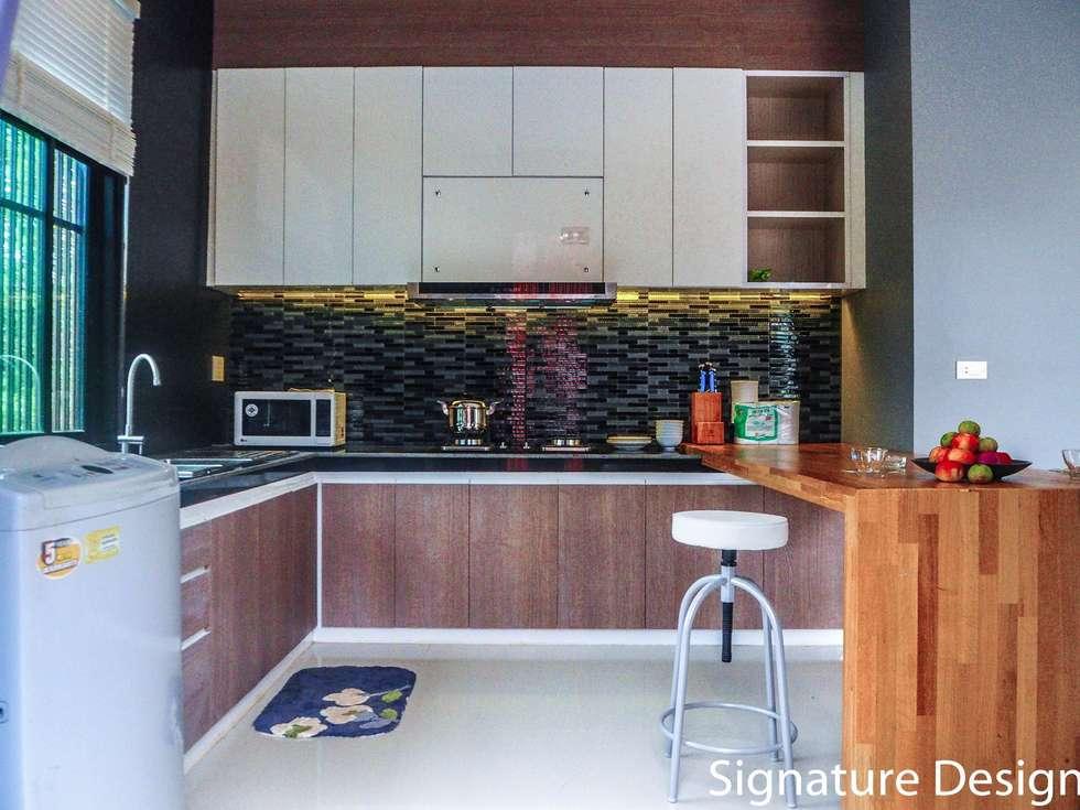 ห้องครัว:  ห้องครัว by SignatureDesign