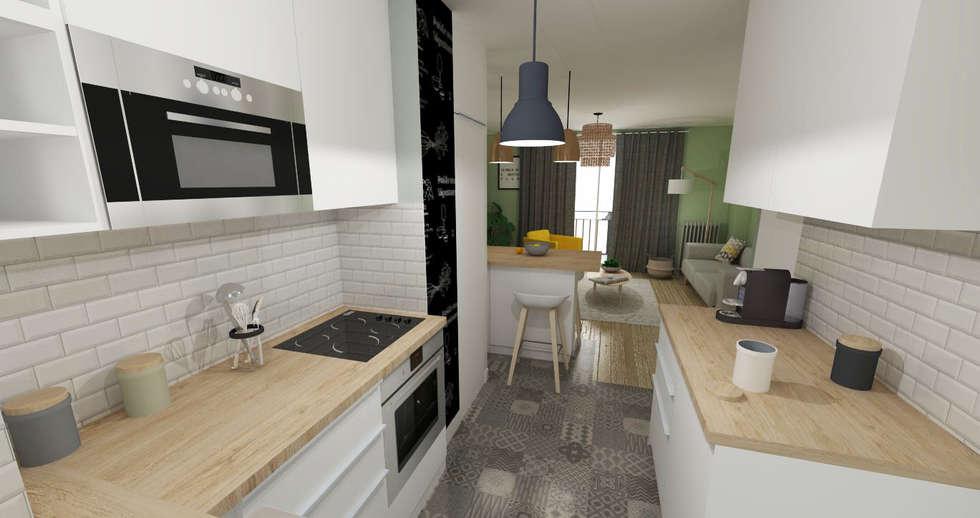 Id es de design d 39 int rieur et photos de r novation homify - L appartement toulousain ...