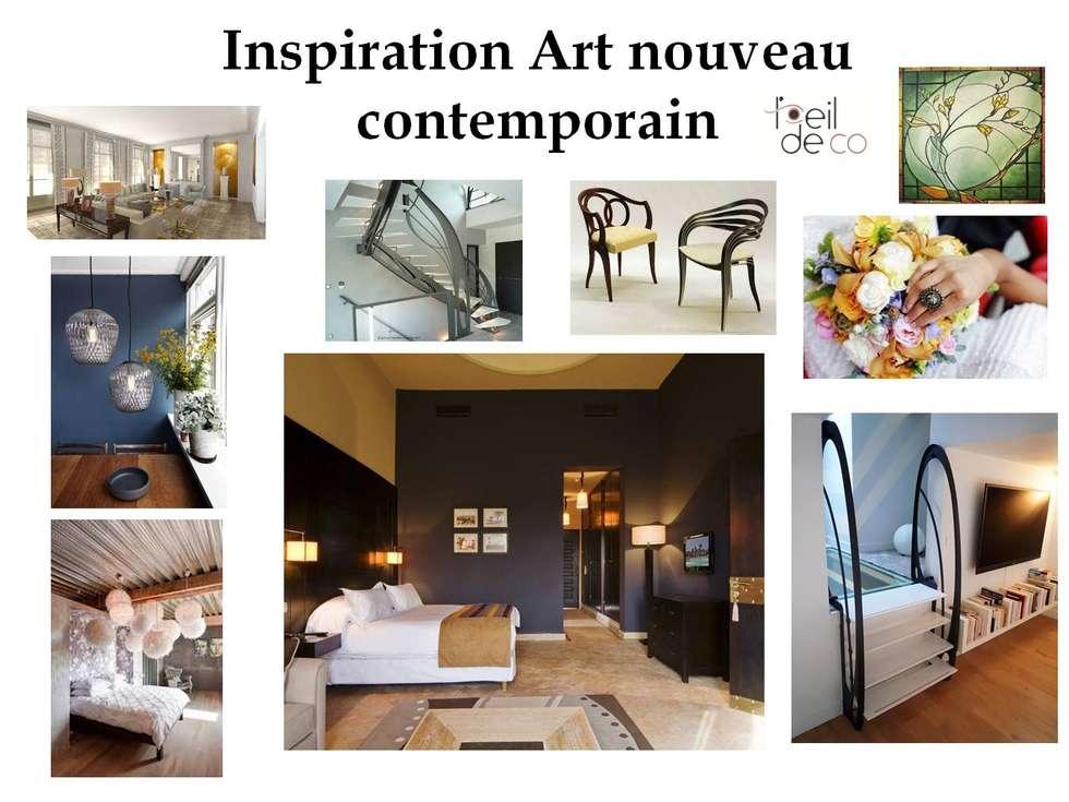 Idee arredamento casa interior design homify for Arredamento art nouveau