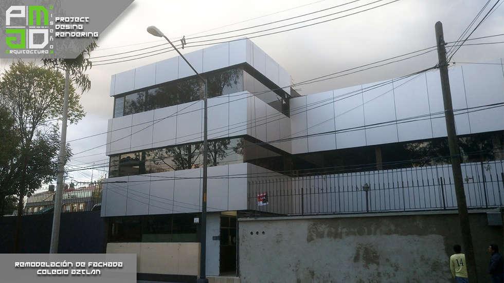 Despues de la remodelación.: Casas de estilo moderno por PM ARQUITECTURA Y DISEÑO, S.A. DE C.V.