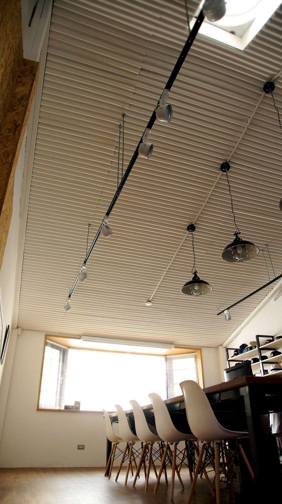 北歐工業風 辦公空間 :  辦公室&店面 by 光島室內設計