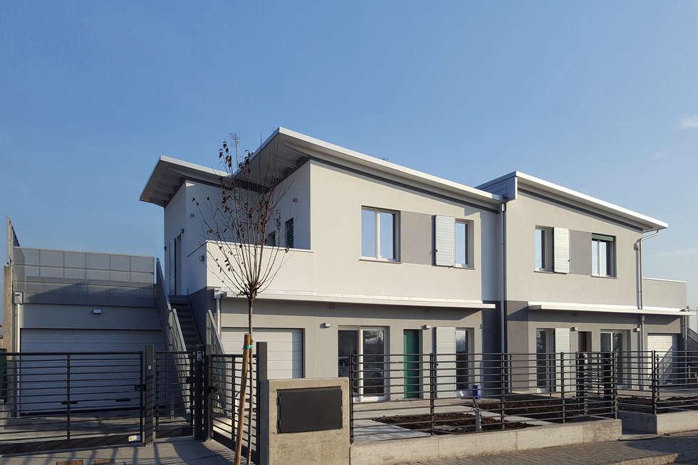 Idee arredamento casa interior design homify for Ville bifamiliari moderne