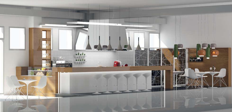 Idee arredamento casa interior design homify for Arredamento bar milano