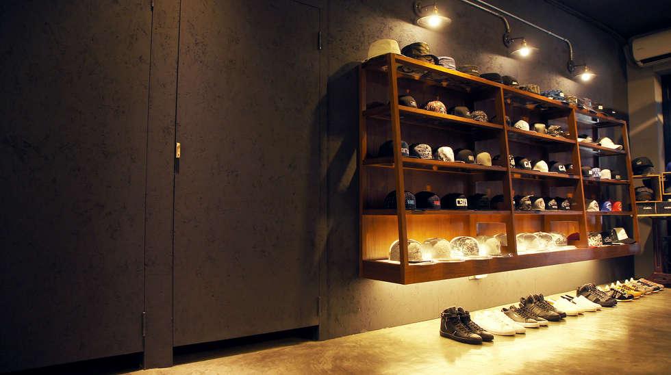 英式紳士風格商業空間:  辦公室&店面 by 光島室內設計