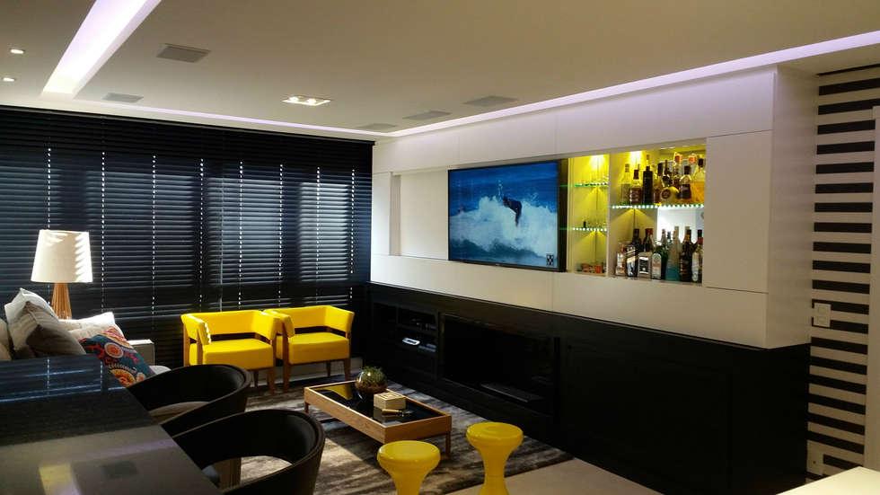 #474266 Fotos de decoração design de interiores e reformashomify 980x551 píxeis em Bar Movel Sala Estar Moderno