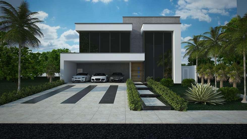 Fotos de decora o design de interiores e reformas homify for Casas modernas 120m2