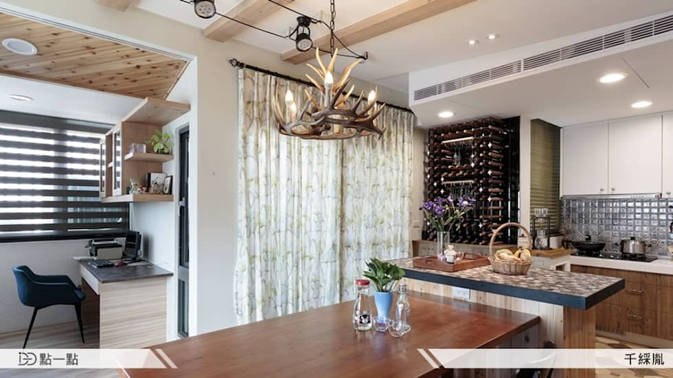 千綵胤空間設計:  廚房 by iDiD點一點設計