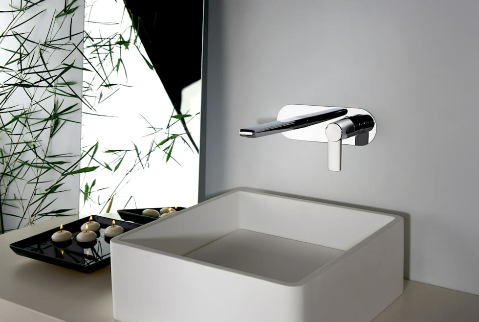 Idee arredamento casa interior design homify - Rubinetto a parete bagno ...