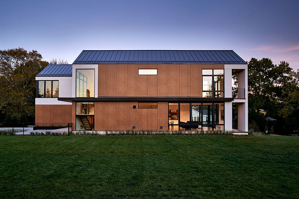 Rosedale Residence: modern Houses by KUBE Architecture