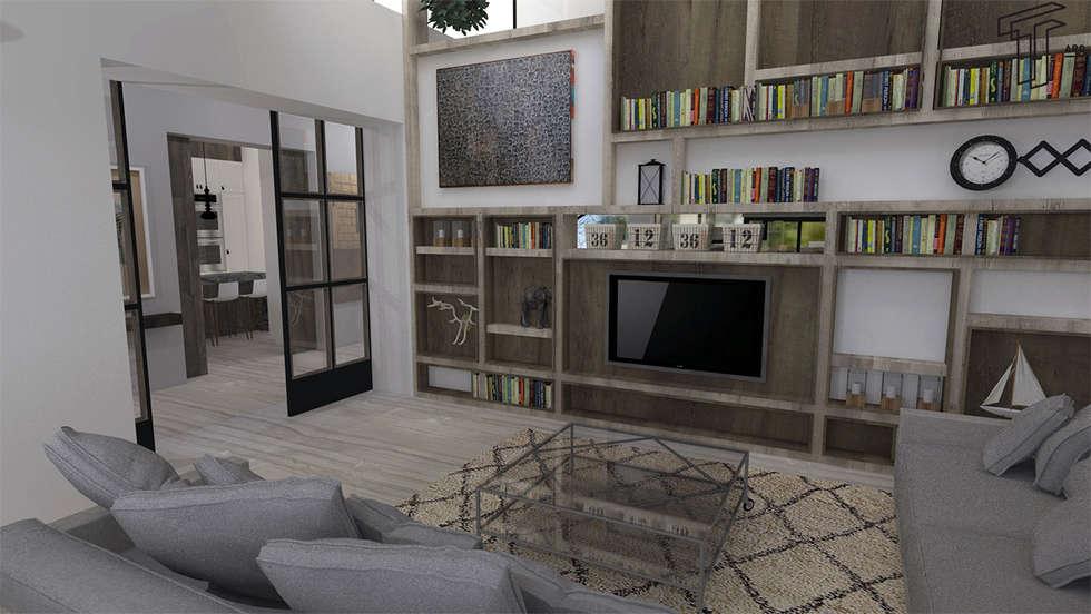 Sala De Estar Arquitectura ~ Fotos de salas de estar modernas por tamen arquitectura  homify