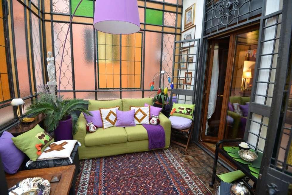 Giardino d'inverno: Ingresso & Corridoio in stile  di Studio Fori