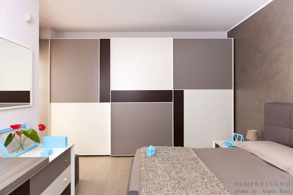 Idee arredamento casa interior design homify for Idee armadio camera da letto