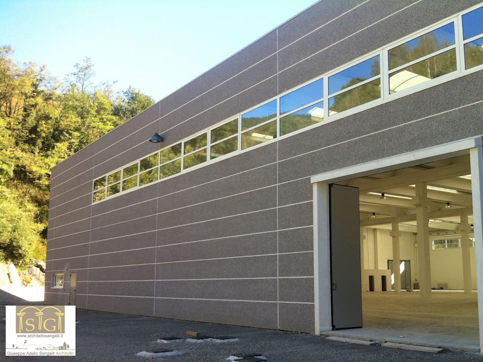 Idee arredamento casa interior design homify for Capannone moderno