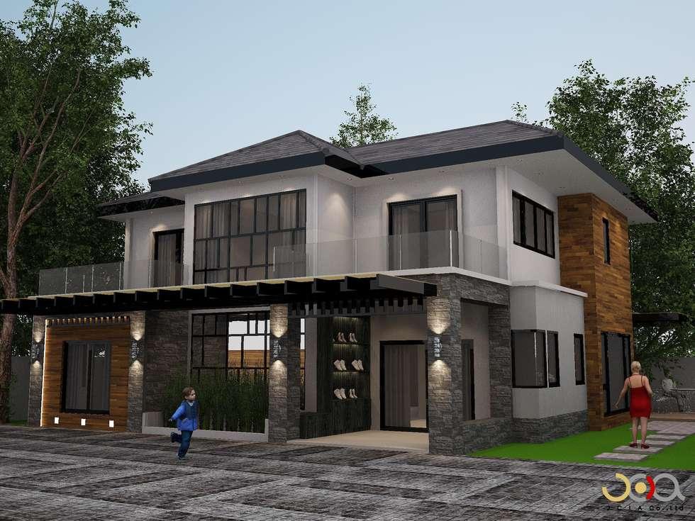 ม.รอยัล วิลล่า:  บ้านและที่อยู่อาศัย by jcia co.,ltd