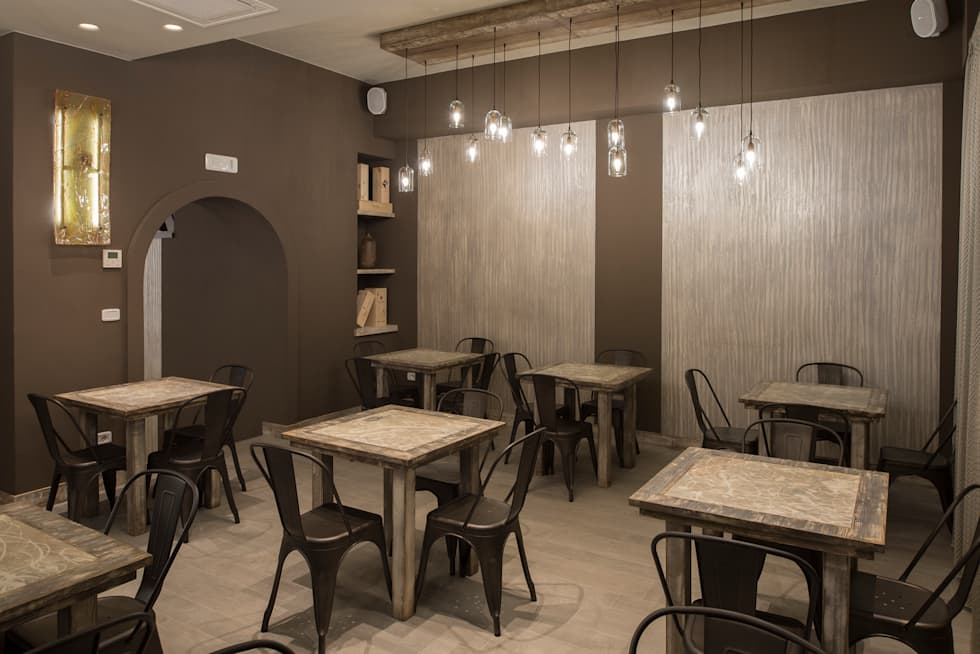 Idee arredamento casa interior design homify for Pizzeria arredamento