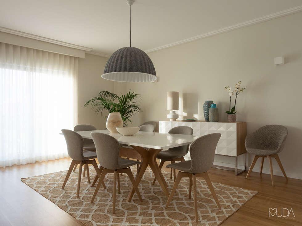 Sala De Jantar Gabrielle ~ Fotos de salas de jantar modernas sala  depois  homify