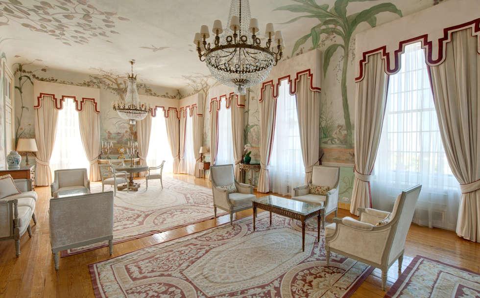 Fotos de decora o design de interiores e remodela es for Sala de estar palacio