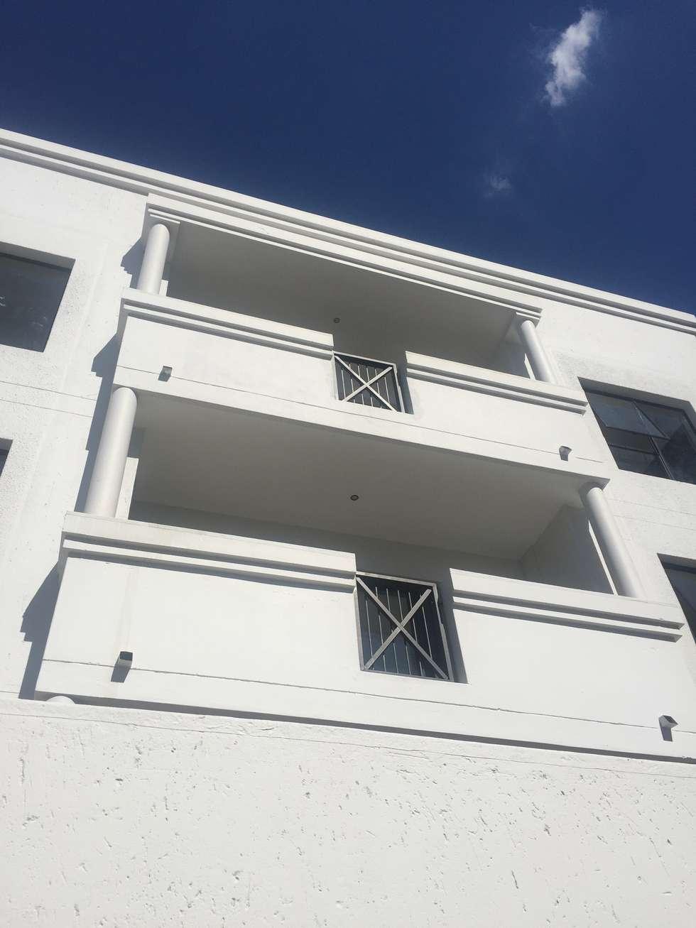 balcony:  Hotels by E2 Architects