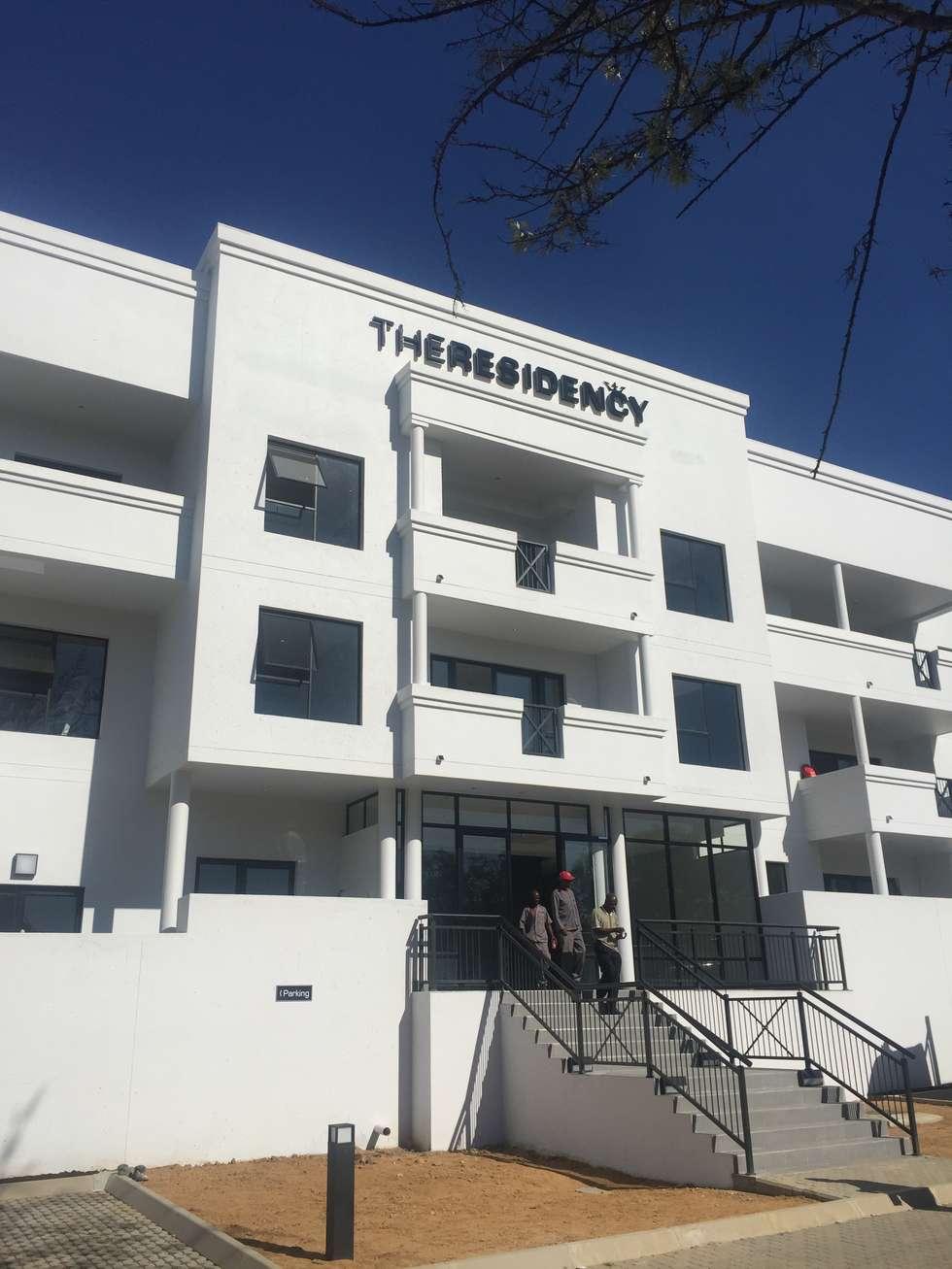 entrance:  Hotels by E2 Architects