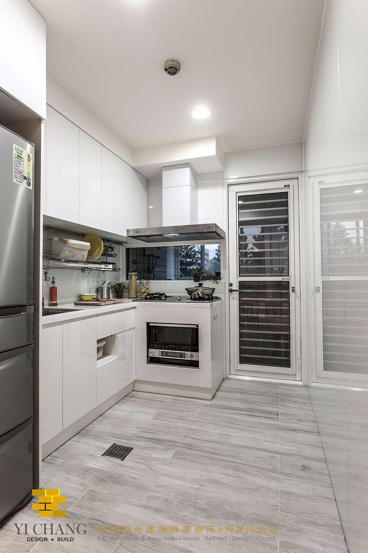 廚房:  廚房 by 垼程建築師事務所/浮見月設計工程有限公司