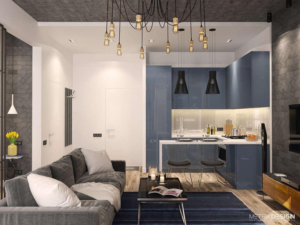 Ruang Keluarga by metrixdesign