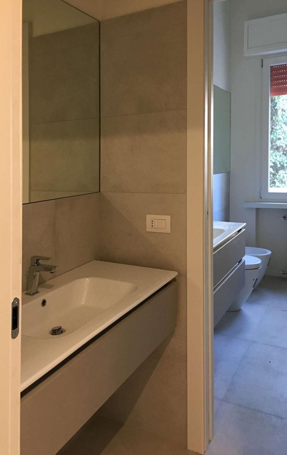 Idee arredamento casa interior design homify - Bagno e antibagno ...