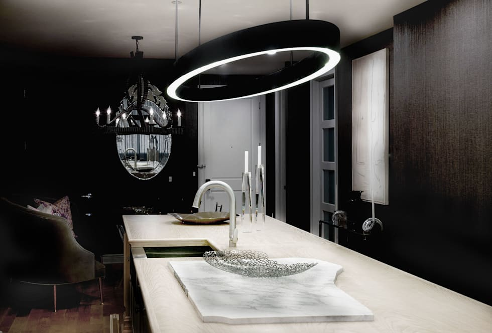 Kitchen - The Pearl: modern Kitchen by Joe Ginsberg