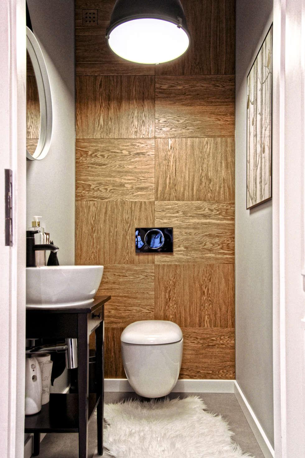 Skandinavische Badezimmer Bilder In Weiß Von Mothi.form | Homify Skandinavische Badezimmer