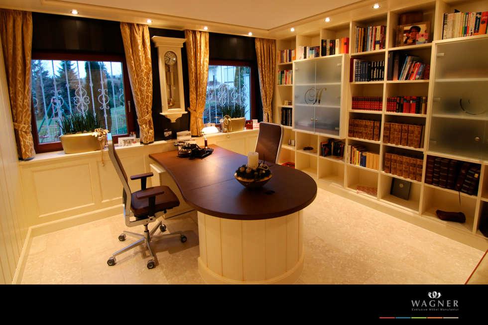 klassische designer mobel von turati boiseries, büro: klassische arbeitszimmer von wagner möbel manufaktur | homify, Design ideen