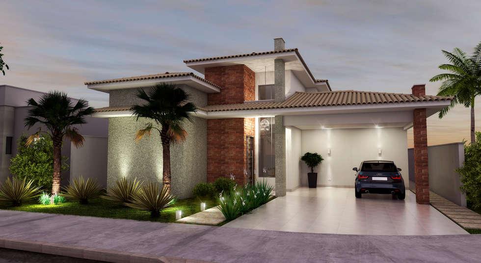 Fotos de decora o design de interiores e reformas homify for Fotos de casas modernas com telhado aparente