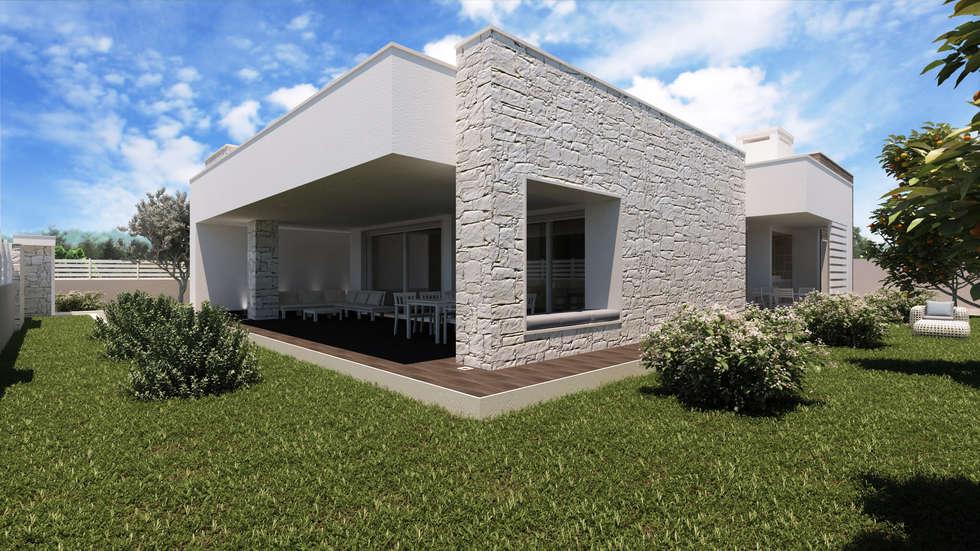 Idee arredamento casa interior design homify for Ville bianche moderne