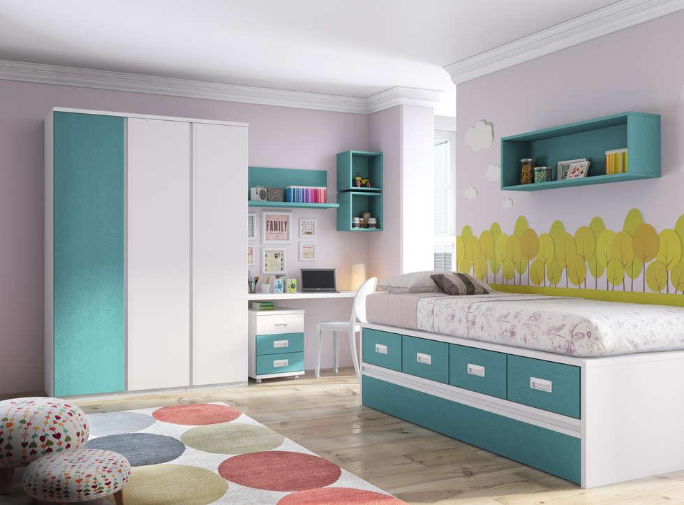 Fotos de decoraci n y dise o de interiores homify - Diseno de dormitorios infantiles ...