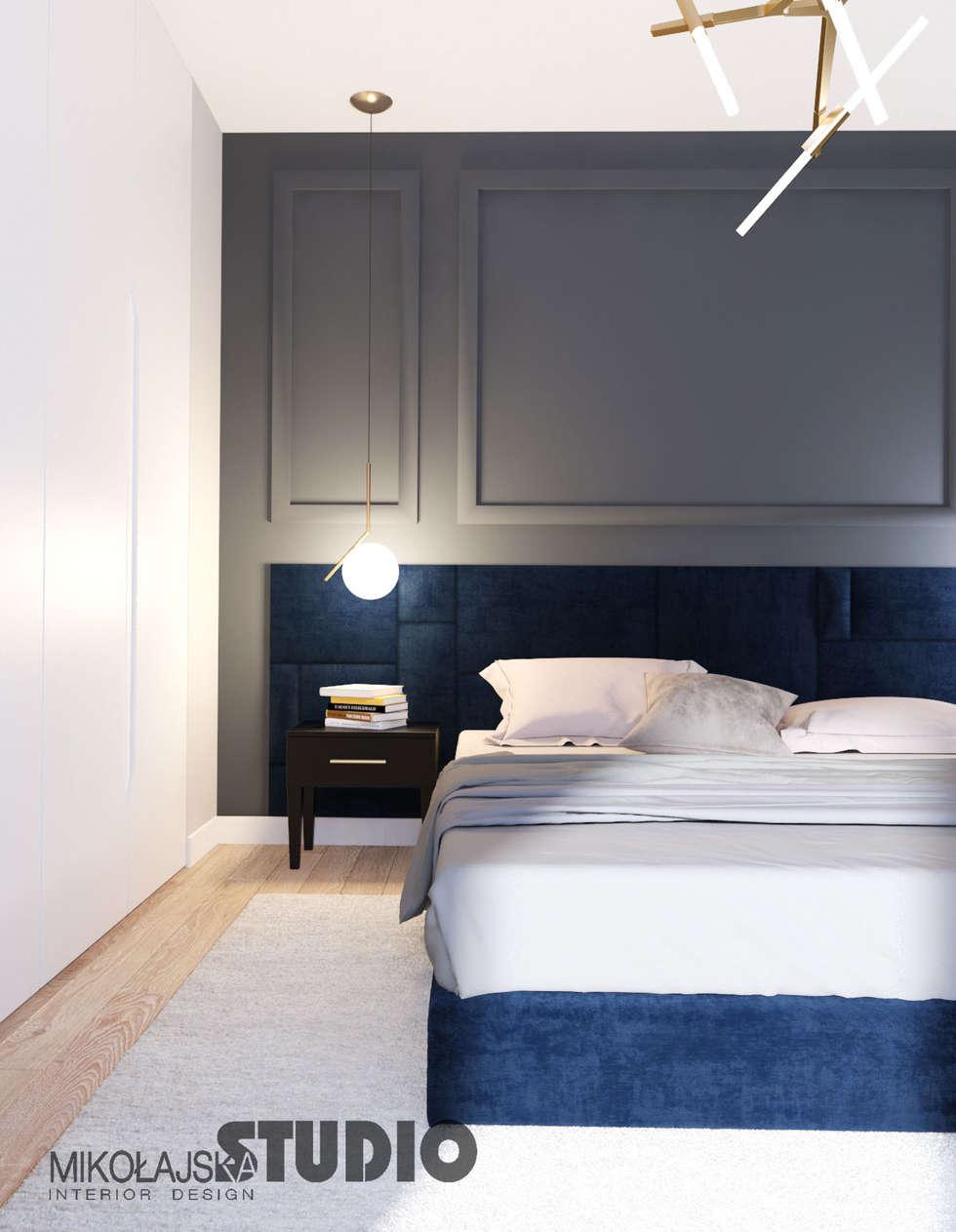 Exklusive wohnung riverside : ausgefallene schlafzimmer von ...