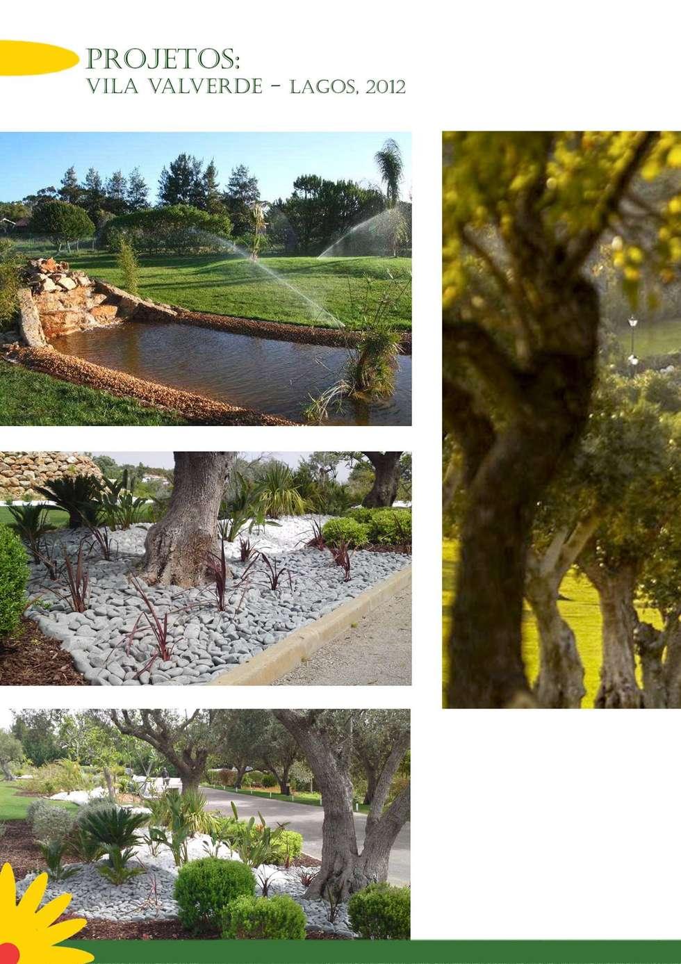 VILA VALVERDE: Hotéis  por ECOSSISTEMAS; Áreas Verdes e Sistemas de Rega.