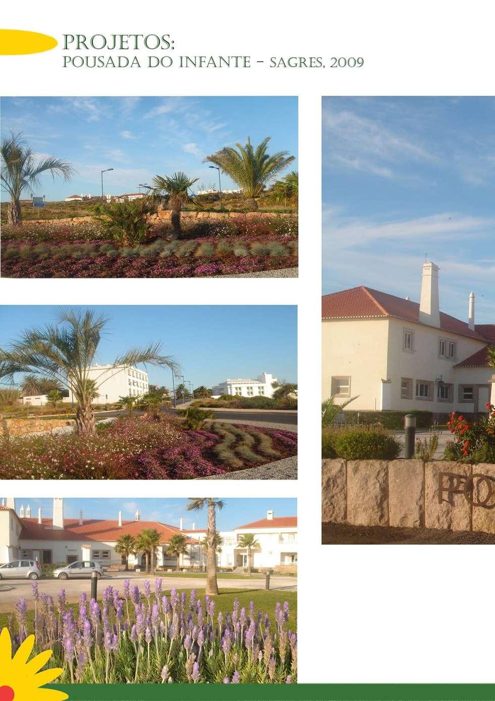 Pousada do Infante Sagres: Hotéis  por ECOSSISTEMAS; Áreas Verdes e Sistemas de Rega.