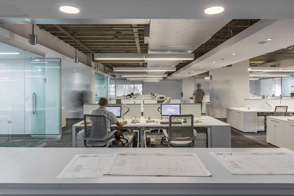 Office buildings by CENTRAL ARQUITECTURA