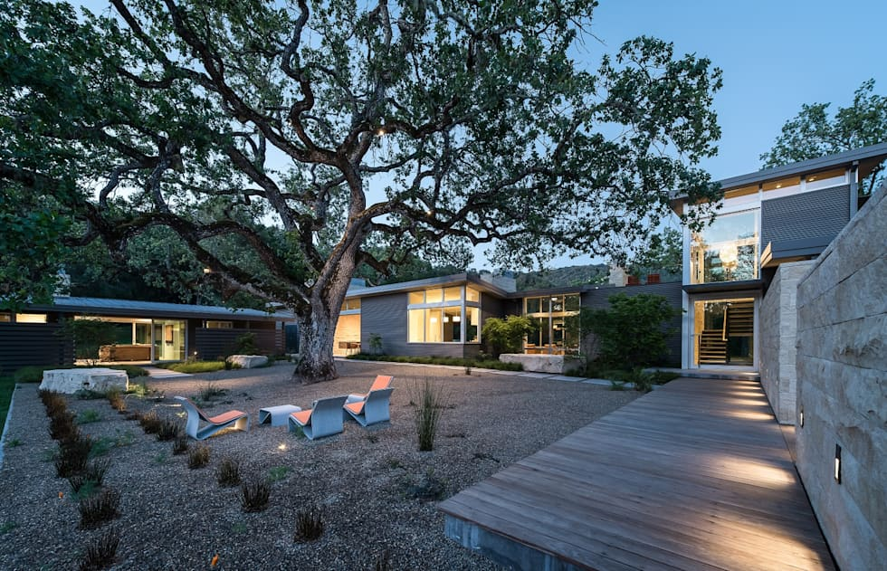 Ranch O|H: modern Houses by Feldman Architecture