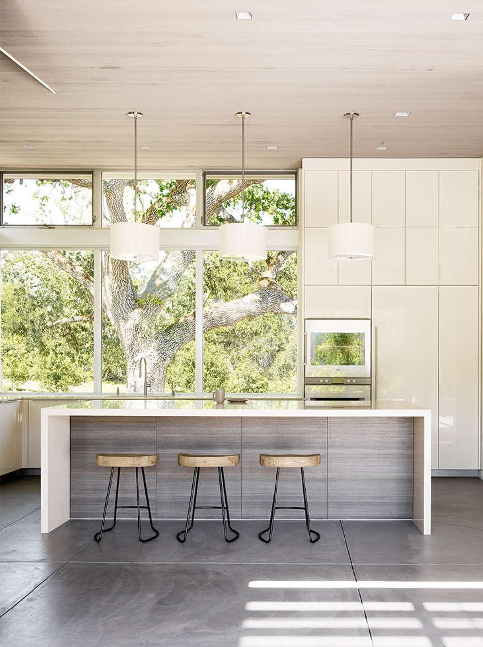 Ranch O|H: modern Kitchen by Feldman Architecture