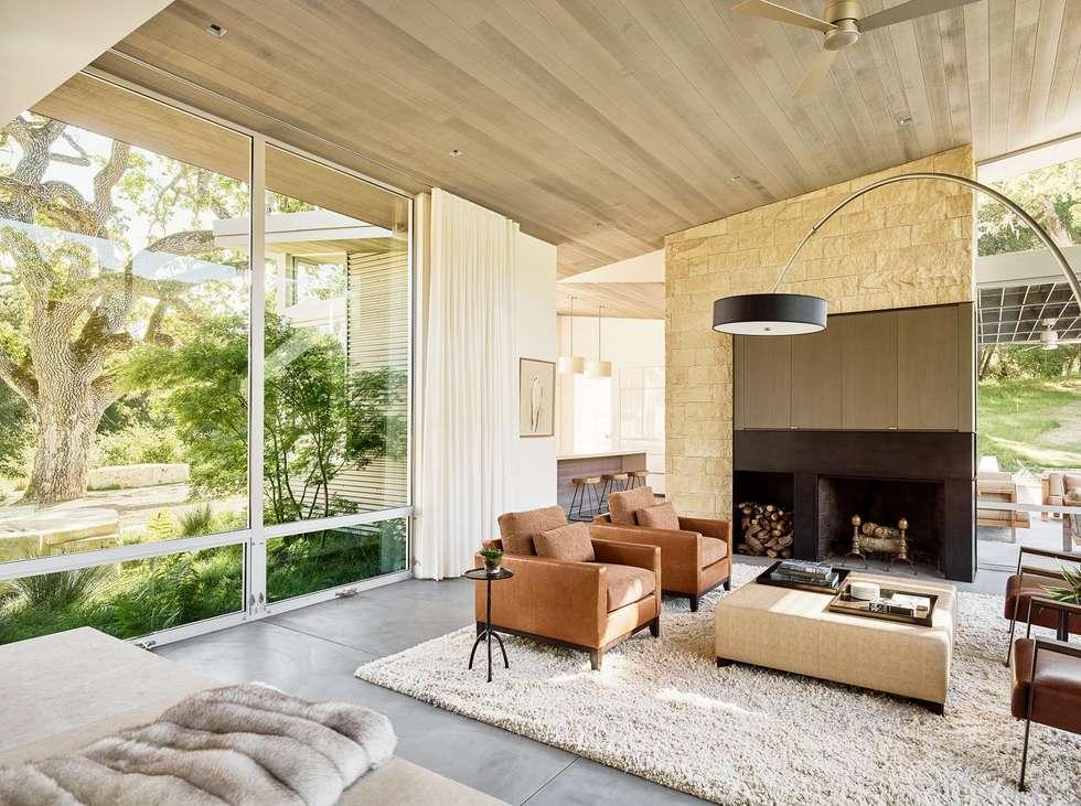 Ranch O|H: modern Living room by Feldman Architecture