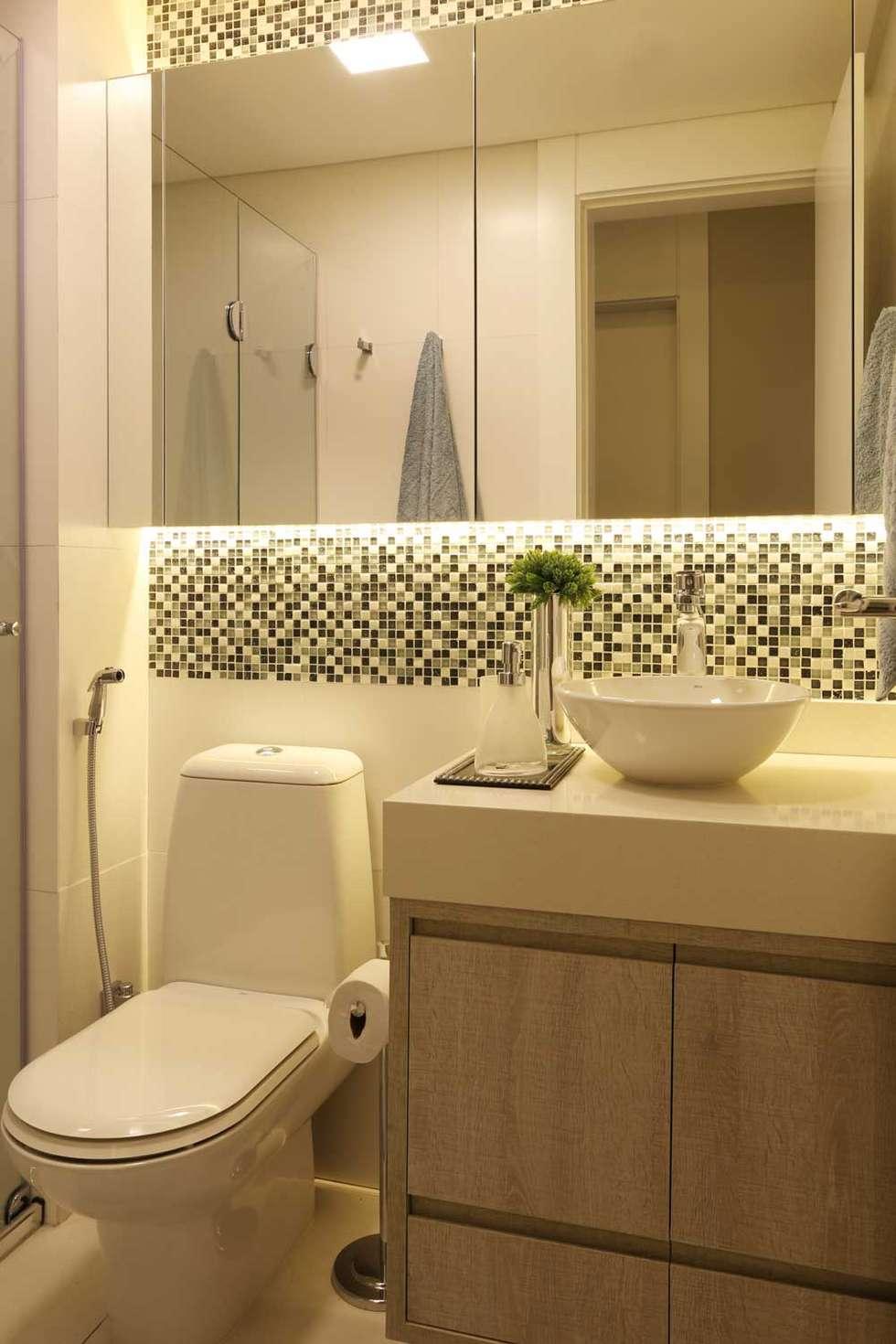 Fotos de banheiros modernos banheiro hóspedes  homify -> Foto Banheiro Moderno