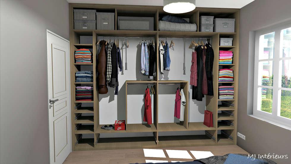 Aménagements intérieurs du dressing: Dressing de style de style Rustique par MJ Intérieurs