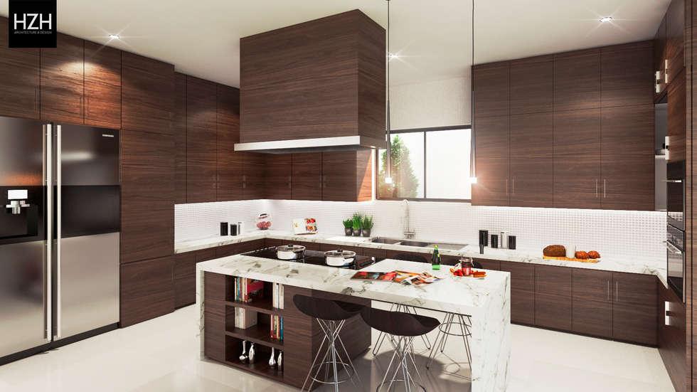 Fotos de cocinas de estilo moderno dise o de cocina - Cocina diseno moderno ...