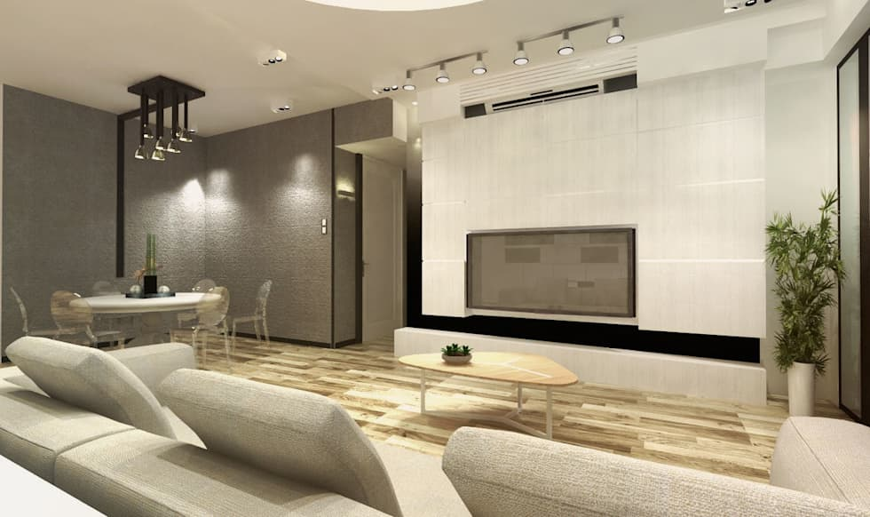 Mayfair By The Sea: modern Dining room by Much Creative Communication Limited