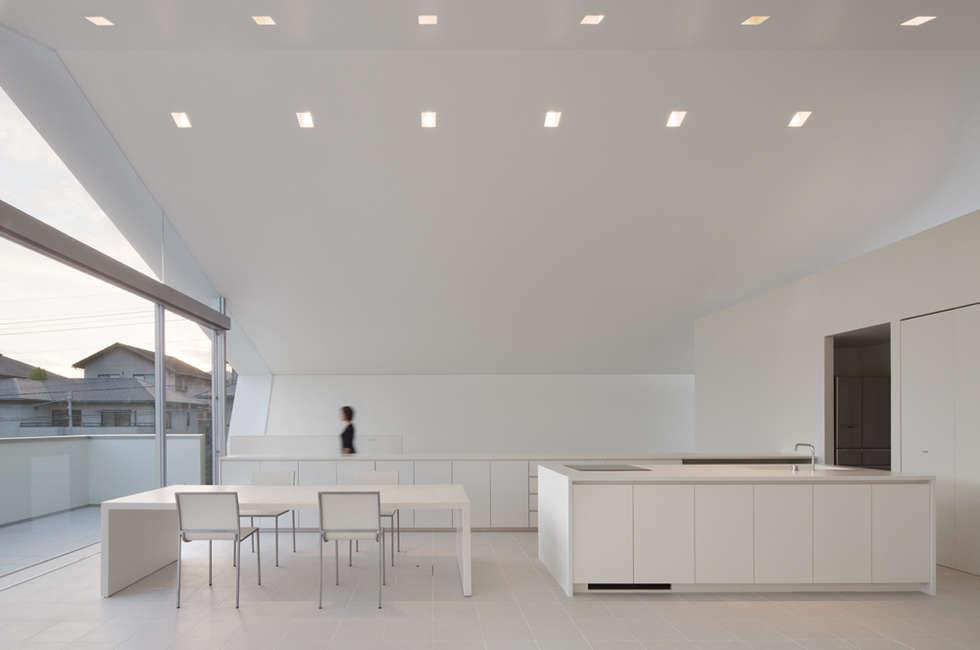 ห้องนั่งเล่น by 森裕建築設計事務所 / Mori Architect Office