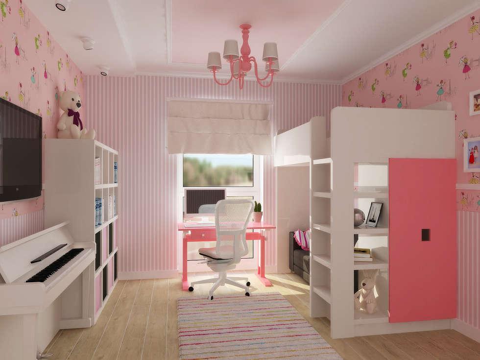 Kinderzimmer Für Mädchen: Moderne Kinderzimmer Von NK Line I Natascha  Kuzmenko I Modernes Interior