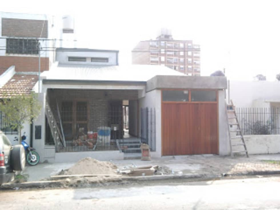 avance de obra: Casas de estilo moderno por VHA Arquitectura