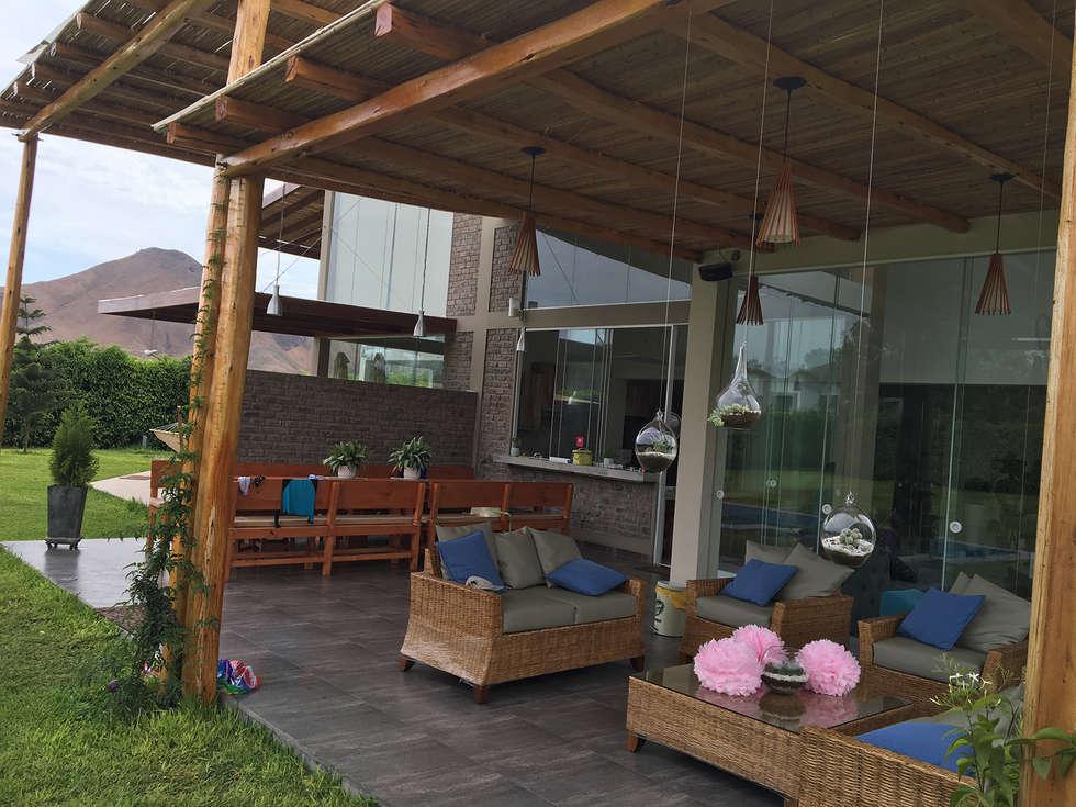 Terrazas de estilo por malu goni homify for Fotos de patios y terrazas